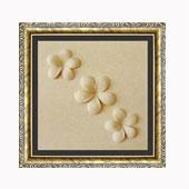 Tranh phù điêu cát 3D 30x30 Hoa sứ 2,