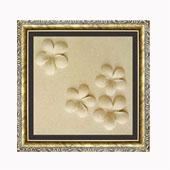 Tranh phù điêu cát 3D 30x30 Hoa sứ 3,