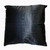 Áo gối kiểu 1477 màu đen, sọc gấp khúc,