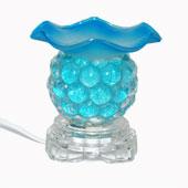 Đèn thủy tinh xông tinh dầu (màu xanh dương),